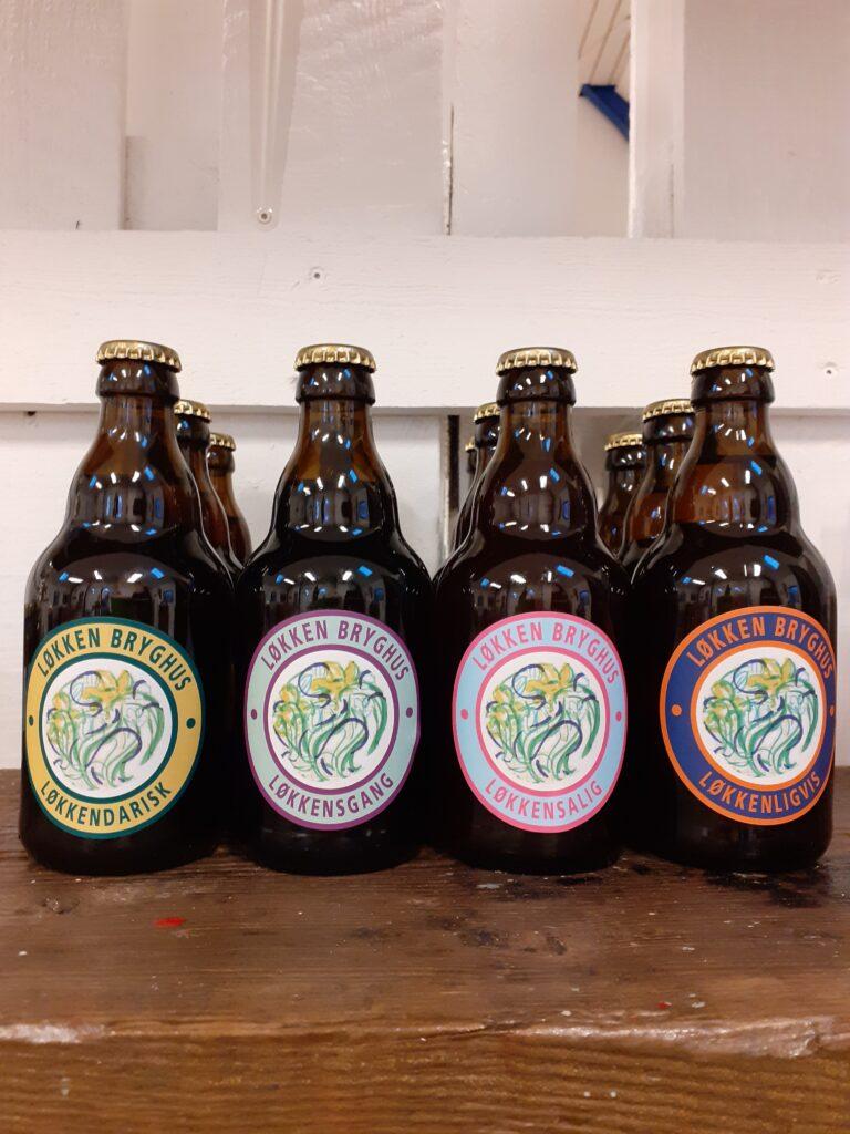 Øl fra løkken bryghus